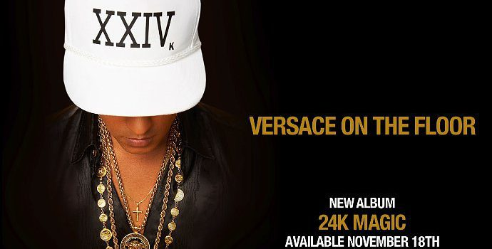 Bruno Mars – Versace on The Floor 歌詞を和訳してみた