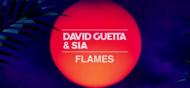 David Guetta & Sia – Flames 歌詞を和訳してみた